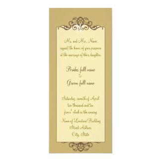 カラメルのファンシーな招待状 カード