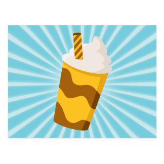 カラメルのミルクセーキ ポストカード