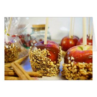 カラメルピーナツりんご カード