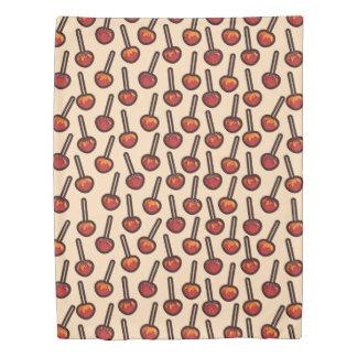 カラメル状のりんご 掛け布団カバー