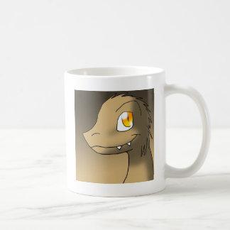 カラメル色合いMicroraptor コーヒーマグカップ