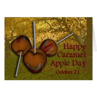 カラメルApple日カード10月21日 カード