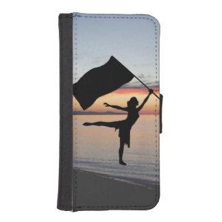 カラーガードの電話箱 iPhoneSE/5/5sウォレットケース