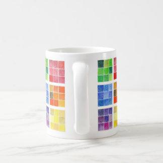 カラータイルのマグカップ コーヒーマグカップ