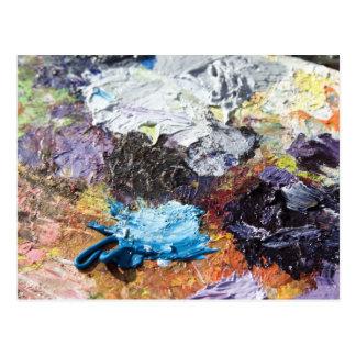 カラーパレット ポストカード