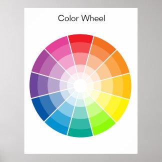 カラーホイール-ライト ポスター