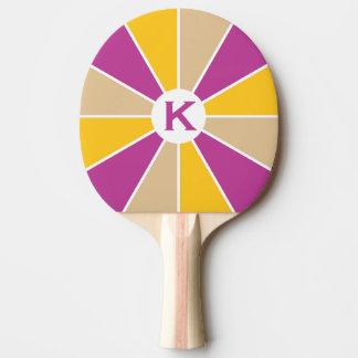 カラーホイール/光線のカスタムの卓球ラケット 卓球ラケット