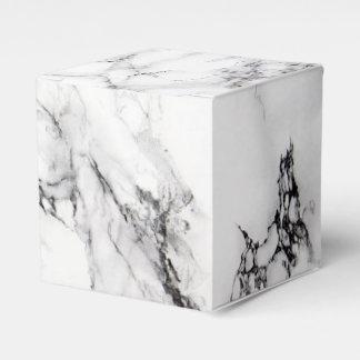 カラーラの大理石の好意箱 フェイバーボックス