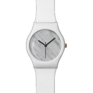 カラーラの大理石 腕時計