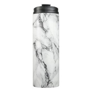 カラーラの白い大理石の熱タンブラー タンブラー