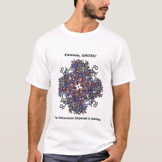 カリウムチャネルのティー Tシャツ