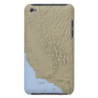 カリフォルニアおよびネバダの立体模型地図 Case-Mate iPod TOUCH ケース