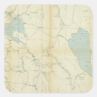カリフォルニアおよびネバダ3 スクエアシール