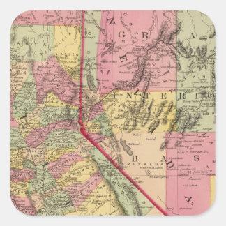 カリフォルニアおよびネバダ5 スクエアシール