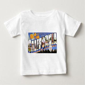 カリフォルニアからの挨拶 ベビーTシャツ