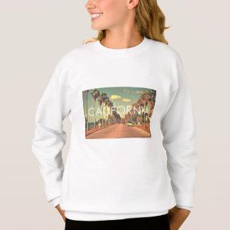 カリフォルニアかわいいスエットシャツ: 女の子7-14 スウェットシャツ