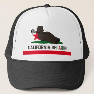 カリフォルニアくまのラクロス キャップ