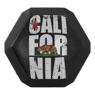 カリフォルニアくまの旗 ブラックBluetoothスピーカー