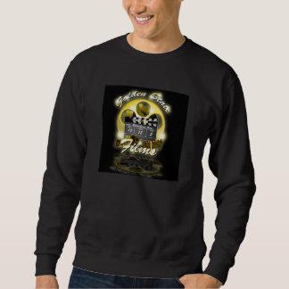 カリフォルニアのスタジオLLCの黒い丸首 スウェットシャツ