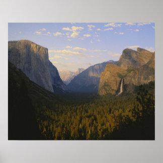 カリフォルニアのヨセミテ国立公園、ヨセミテ ポスター
