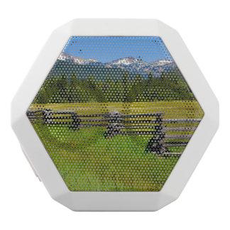 カリフォルニアの山のラッセン国立公園 ホワイトBluetoothスピーカー
