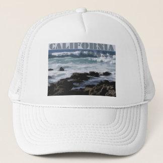 カリフォルニアの岩が多い太平洋沿岸 キャップ