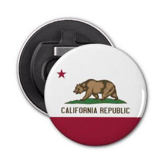 カリフォルニアの旗が付いている愛国心が強い栓抜き 栓抜き