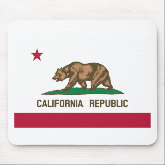 カリフォルニアの旗 マウスパッド