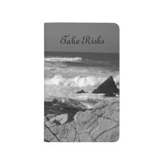 カリフォルニアの荒海 ポケットジャーナル