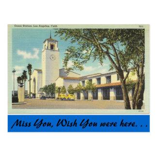 カリフォルニアの連合場所 ポストカード