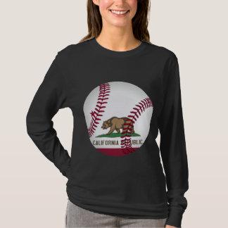 カリフォルニアの野球 Tシャツ