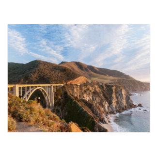 カリフォルニアのBixby橋 ポストカード