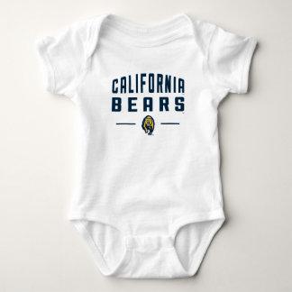 カリフォルニアは| Calバークレー3に耐えます ベビーボディスーツ