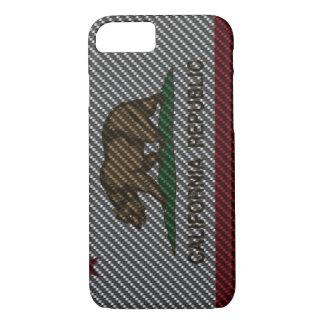 カリフォルニアカーボン繊維 iPhone 8/7ケース