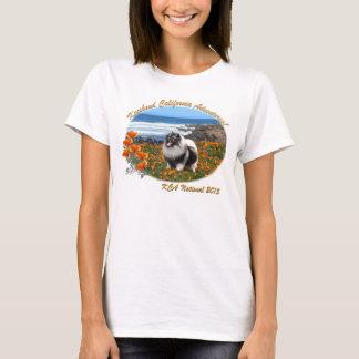 カリフォルニアキース- 2015 KCAの国民のロゴ Tシャツ