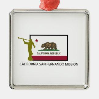 カリフォルニアサンフェルナンド代表団LDS CTR メタルオーナメント