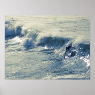 カリフォルニアサーファー ポスター