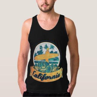 カリフォルニアサーフボード タンクトップ