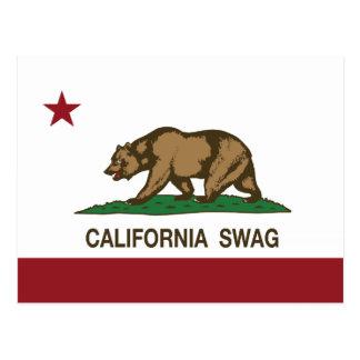 カリフォルニアスワッグ ポストカード