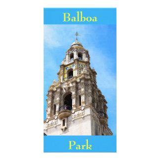 カリフォルニアタワーのバルボア公園サンディエゴカリフォルニア カード