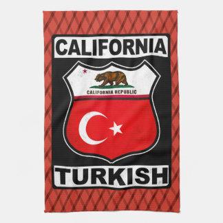 カリフォルニアトルコのアメリカのふきん キッチンタオル