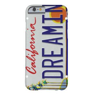 カリフォルニアナンバープレートのiPhone6ケース Barely There iPhone 6 ケース