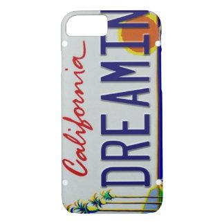 カリフォルニアナンバープレートのiPhone 7の場合 iPhone 8/7ケース