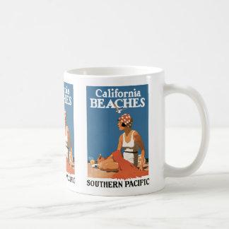 カリフォルニアビーチ コーヒーマグカップ