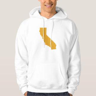 カリフォルニアメンズフード付きスウェットシャツ パーカ