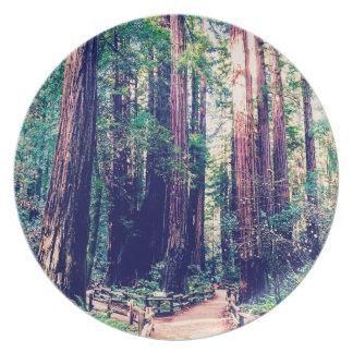 カリフォルニアレッドウッド プレート