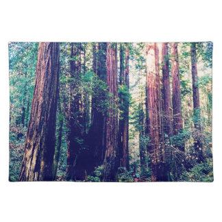 カリフォルニアレッドウッド ランチョンマット
