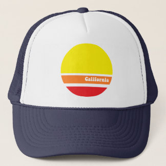 カリフォルニアレトロのトラック運転手の帽子 キャップ