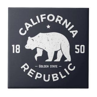 カリフォルニアロゴ カリフォルニア タイル