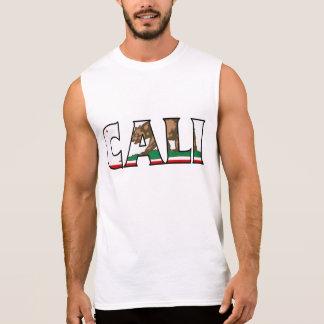 カリフォルニアワイシャツ 袖なしシャツ